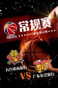 CBA 18/19赛季 常规赛 第42轮 九台农商银行VS广东东莞银行