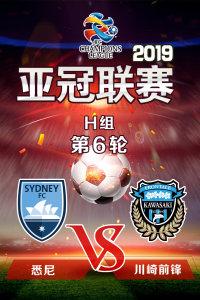 2019亚冠联赛 H组第6轮 悉尼VS川崎前锋