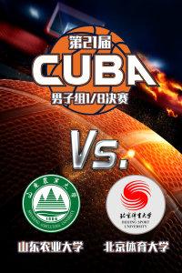 第21届CUBA东北赛区 男子组1/8决赛 山东农业大学VS北京体育大学