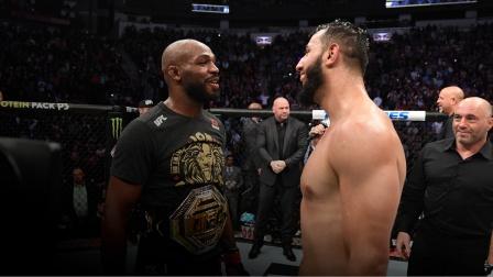 UFC247冠军战后采访,琼斯赞扬雷耶斯
