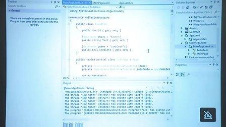 Windows Azure 移动服务-消息推送