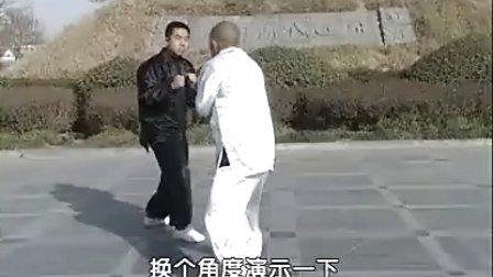 汤瓶七式拳实战教学(时振刚时晓武)A实战靠捶