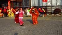 竹镇竹墩社区快乐组马灯队演出—狮子舞