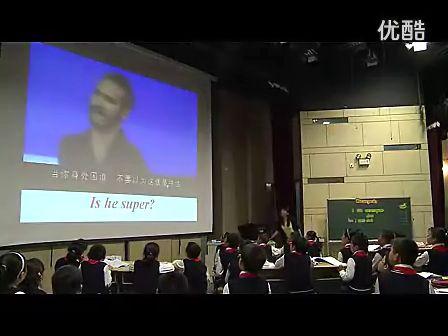 度浙江省小学英语课堂教学评比优质课一等奖课堂教学实录