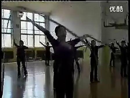 高一体育优质课《艺术体操彩带》教学视频