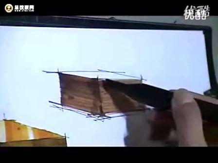 庐山手绘艺术特训营陈红卫老师单体材质马克笔表现