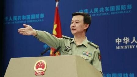 国防部例行记者会上对台湾问题给出回应