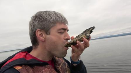 牡蛎原来是这样种植和食用的,网友:看起来好美味