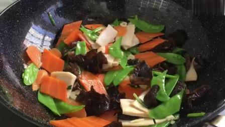超简单的家常菜,过年过节做这道菜,清脆爽口,吃着健康