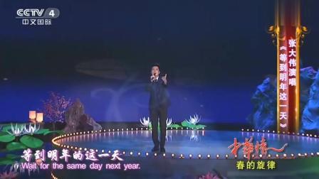 张大伟演唱《等到明年这一天》,伤感老歌,满满的都是回忆!