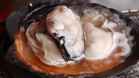 美味鲜嫩的牡蛎,生吃烤着吃,怎么吃都好吃