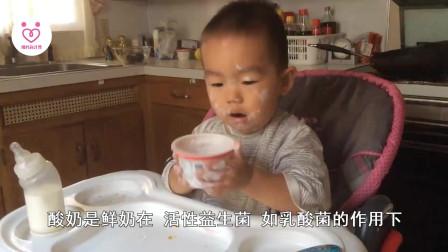 辣妈小常识:孩子多大可以喝酸奶?宝妈们一定要知道的事情,对孩子健康有好处