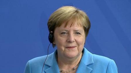 德国总理默克尔第三次全身颤抖 回应身体无碍