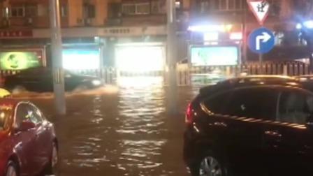 """北京昨夜强降雨 """"烧烤""""天气暂停"""