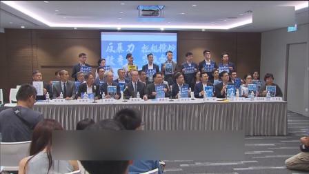 """""""反暴力 救香港""""大集会于金钟添马公园举行"""