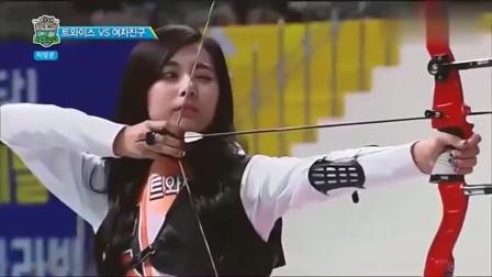 最美射箭运动员,看到她感觉就像画里出来的一样