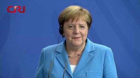 德国总理默克尔第三次全身颤抖回应身体无碍 国际时政 20190711
