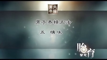 006-黄帝内经3胎育智慧篇-男养精 女养血[高清版]