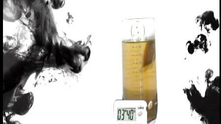 柿叶茶茶包的冲泡变化过程