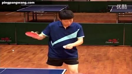 第56集:正手发转与不转球《乒乓球九级训练内容与达标标准》教学视频教程_高清