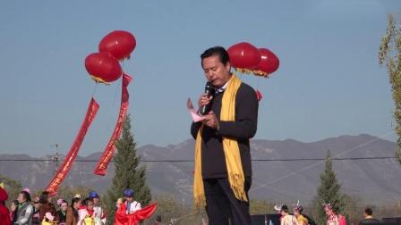 黎城县政府领导在[黎侯王陵]祭拜广场上的讲话