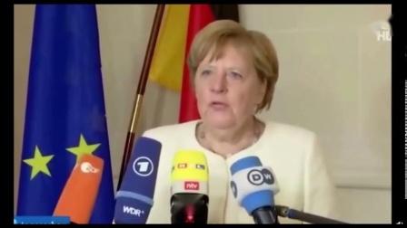德国政府发言人:默克尔呼吸困难是因为爬楼梯太快