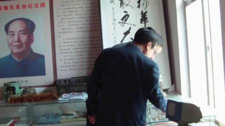 太康县政府领导清明节来三官庙革命纪念馆