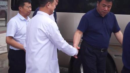 绥化市政协和兰西县委、县政府领导来兰西泽惠医院视察2019.6.13
