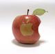 苹果缺一角