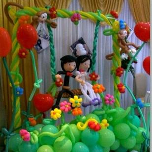 丰收气球艺术