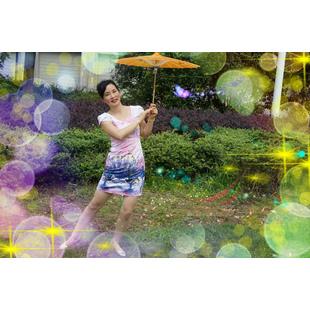 紫月蔷薇广场舞