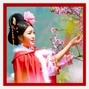 三月桃花红21424098