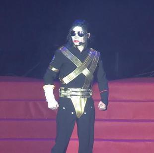 迈克尔杰克逊模仿秀敏敏