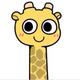 傲娇的长颈鹿