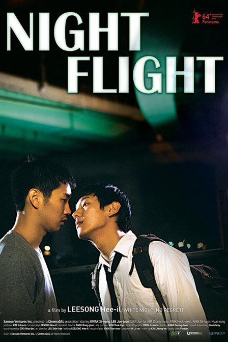 夜间飞行-韩国海报