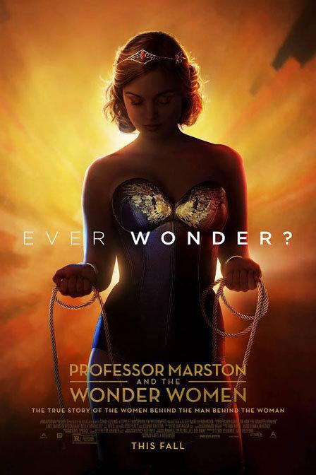 马斯顿教授与神奇女侠海报