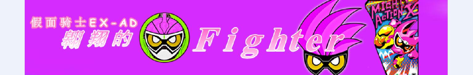 翱翔的Fighter banner