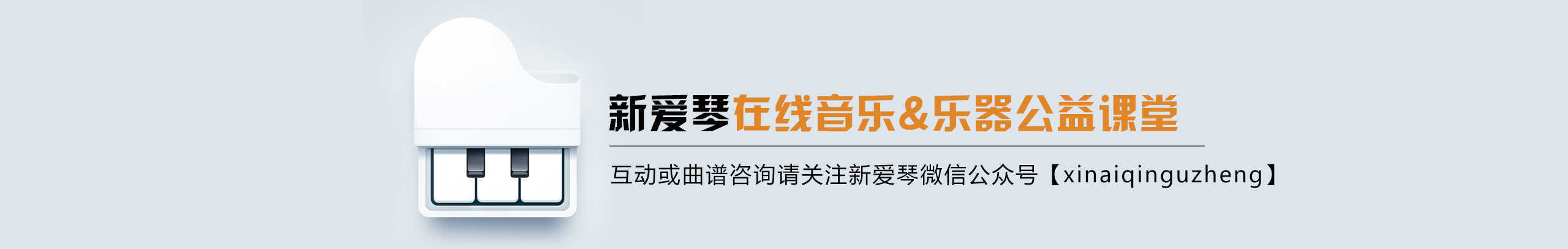 新爱琴乐器 banner