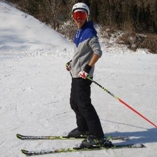 爱滑雪的洁癖男