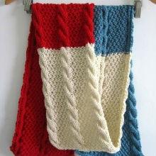 围巾的织法