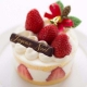 草莓哓蛋糕