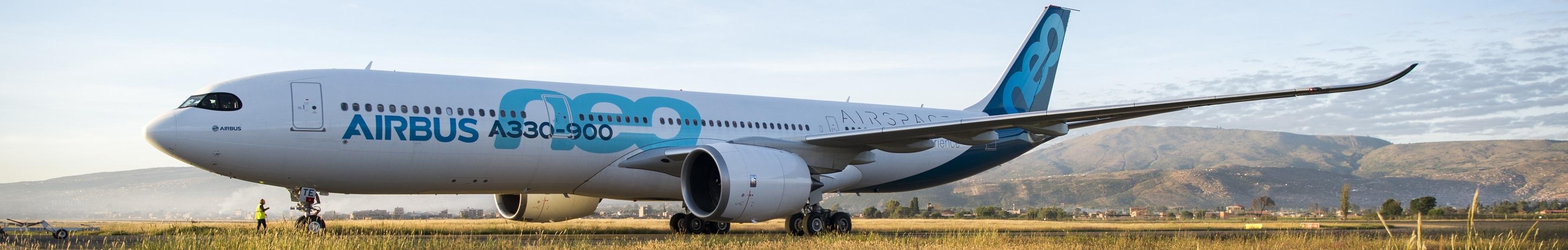 空中客车Airbus banner