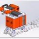 铝合金金属铸造压铸厂电炉除气机