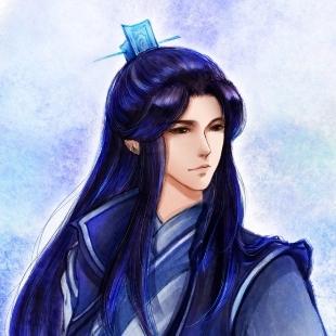 蓝发飘飘酷紫英