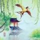 荷塘舞赤金燕