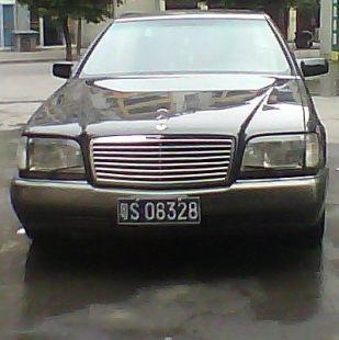 奔馳S600L