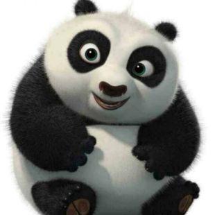 爱竹子的功夫熊猫
