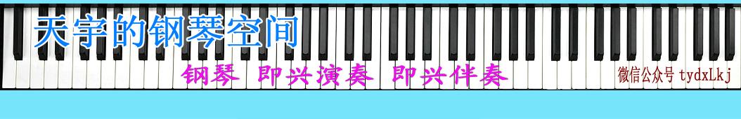 天宇的钢琴空间 banner