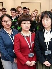 中國老師來了