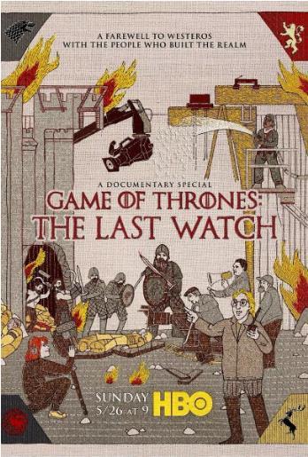 权力的游戏:最后的守夜人的海报图片